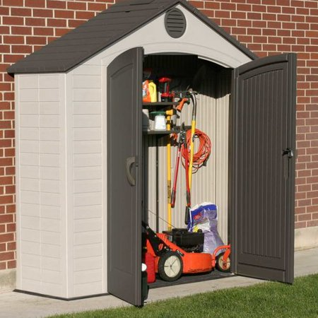 Lifetime 8' x 2.5' Outdoor Storage Shed