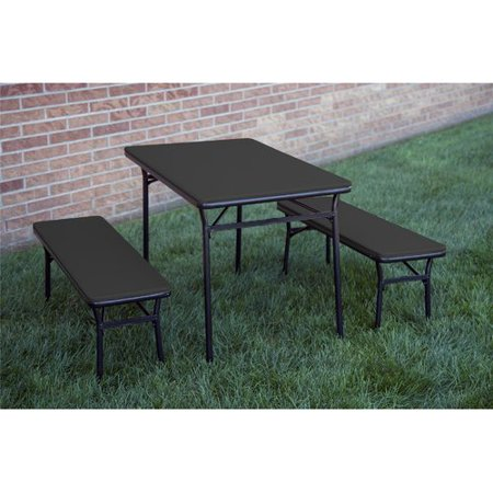 Outstanding Cosco Table Bench Cosco Products Cosco 3 Piece Indoor Caraccident5 Cool Chair Designs And Ideas Caraccident5Info