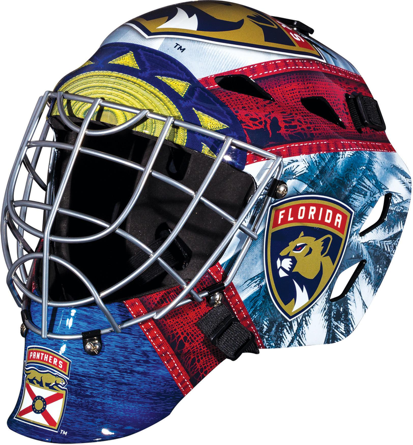Florida Panthers Unsigned Franklin Sports Replica Mini Goalie Mask