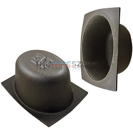 "6.5"" inch Foam Bass Reflex Acoustic Car Audio Speaker Baffles (pair)"