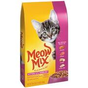 Meow Mix Kitten Li`l Nibbles Dry Cat Food, 3.15-Pound
