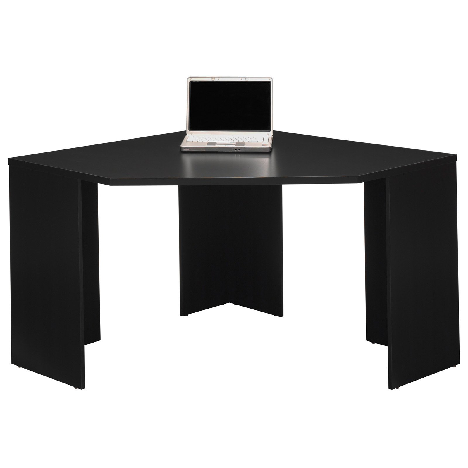 Bush My E Stockport Corner Computer Desk With Optional Hutch And File Cabinet