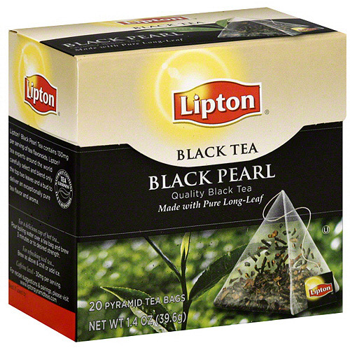 Lipton Black Pearl Tea, 20ct (Pack of 6)