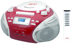 Portable CD MP3 Boombox PT BB-992 by AVID PRODUCTS