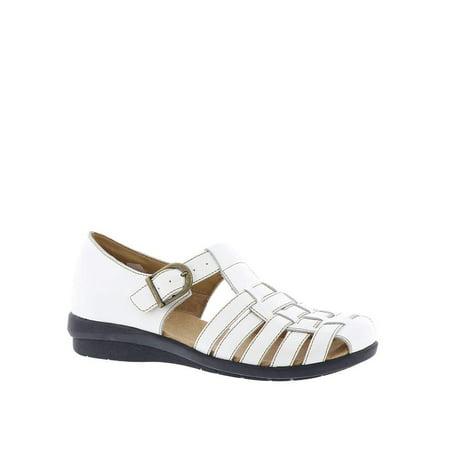 Array Womens Aruba Leather Closed Toe Casual Gladiator Sandals