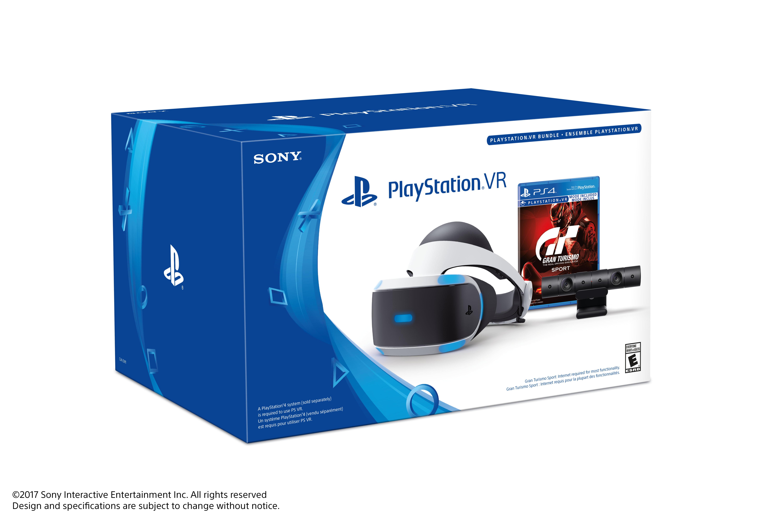 Sony Playstation Vr Gran Turismo Sport And Camera Bundle 3002810