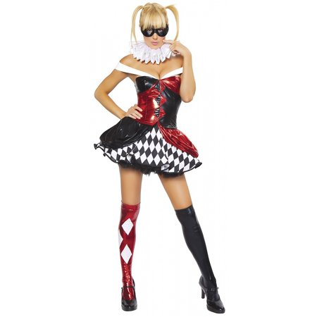 Sexy Clown Adult Costume - Medium/Large