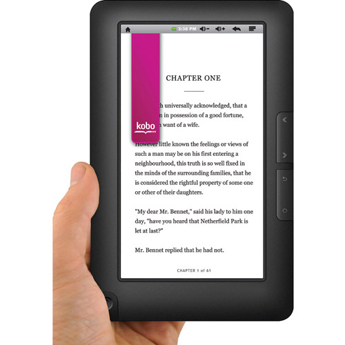 """Ematic EBW405 7"""" 4GB eBook Reader and Tablet PC Android 2.1 (Eclair) OS"""