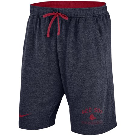 - Boston Red Sox Nike Flux Lounge Shorts - Heathered Navy