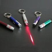 SALMOPE Cat toys LED laser lights infrared tease cat (color random)