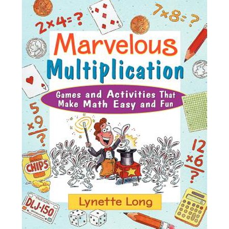 Marvelous Multiplication : Games and Activities That Make Math Easy and Fun - Halloween Math Multiplication Games
