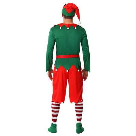 Men's Plus Size Santa's Helper Costume - Santa's Helper Outfit