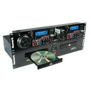 NUMARK CDN77USB Pro DJ Dual MP3/CD Player Rack Mount