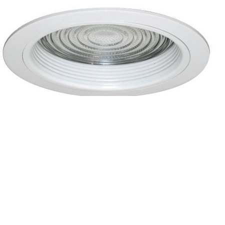 Recessed Socket - Monument 6 In. Recessed Anodized Reflector Trim With Vertical Socket, Clear, 7-3/8 X 6-1/4 In.
