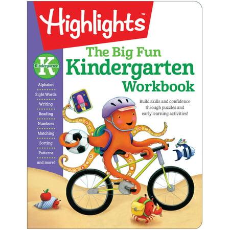 The Big Fun Kindergarten Workbook : Build skills and confidence through puzzles and early learning activities! - Halloween Literacy Activities For Kindergarten