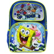 "Backpack - SpongeBob SquarePants - Smooth Sailing 16"" New 009003"