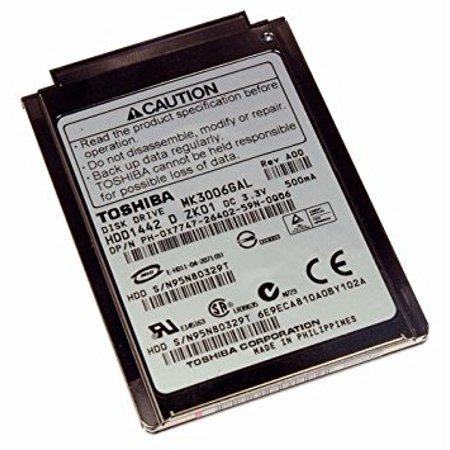 1.8 Inch Mini Hard Drive - Toshiba MK3006GAL 30GB UDMA/66 4200RPM 2MB 1.8