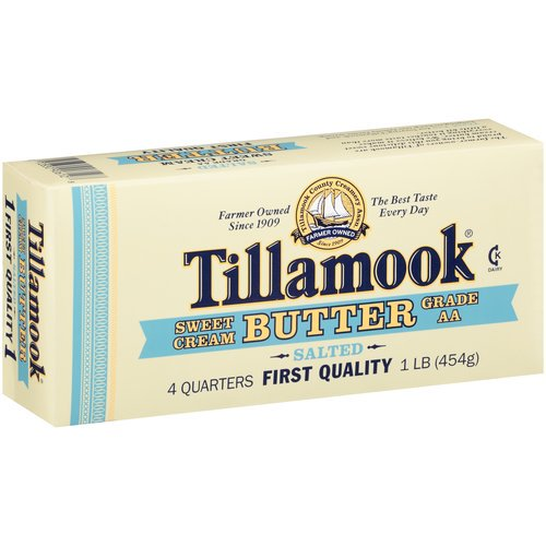 Tillamook Sweet Cream Salted Butter, 1 lb