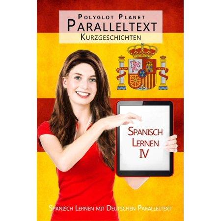 Spanisch Lernen IV - Paralleltext - Kurzgeschichten - - eBook (Sonnenbrille Spanisch)