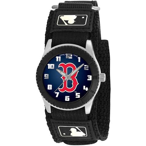 Game Time MLB Men's Boston Red Sox Rookie Series Watch, Black