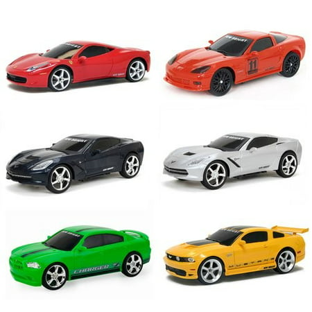 New Bright 1:24 Scale Radio Control Sports Car](Mickey Mouse Remote Control Car)