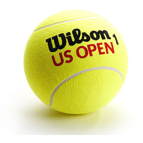 "Wilson US Open Jumbo Tennis Ball (9"", Basketball Size)"