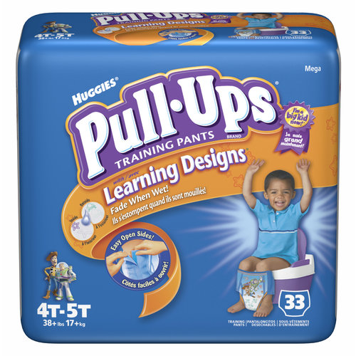 Huggies Pull-Ups Learning Designs Training Pants, Boys 4T-5T, 33ct