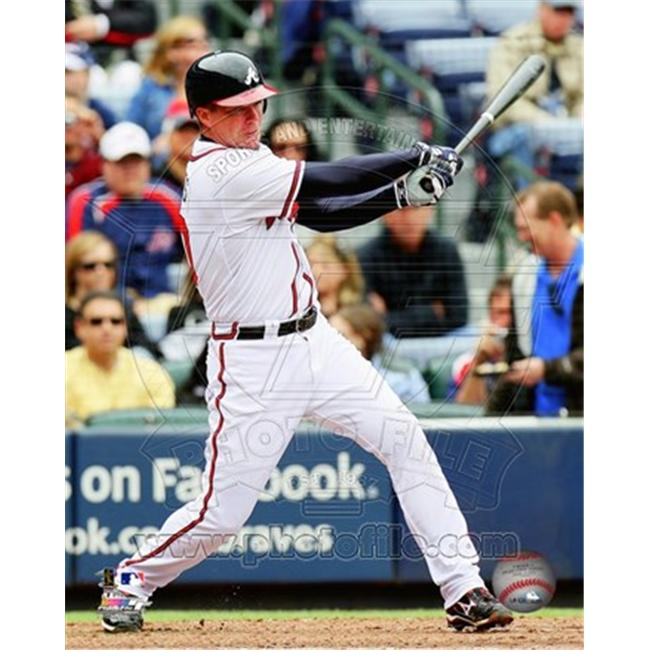 Liebermans PFSAANR01201 Chipper Jones 2011 Action 8.00 x 10.00 Poster Print - image 1 of 1