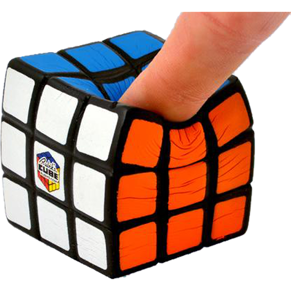 Paladone Rubik's Cube Foam Stress Ball, 2 X 2 X 2 inches