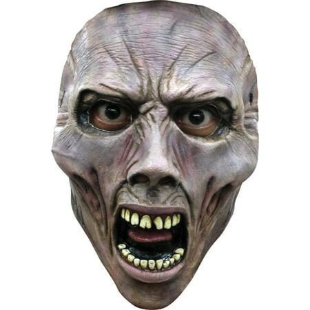 Zombie 1 World War Z Scream Zombie Mask Adult Halloween Accessory