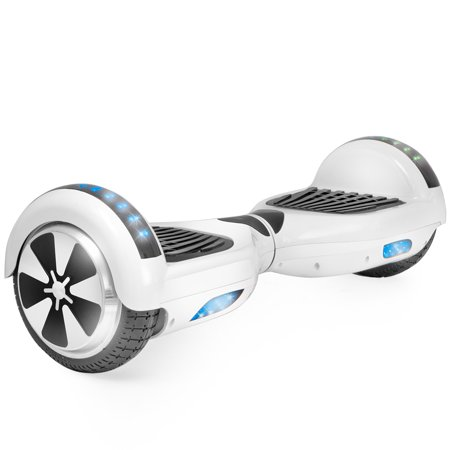 Self Balancing 36V Electric Scooter Hoverboard UL CERTIFIED, White (Hoverboard Prop)