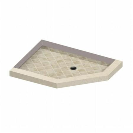 American Bath Factory N363204SO-RC Neo 36 x 32 in. Right Angle Sonoma (Neo Bath Accessories)
