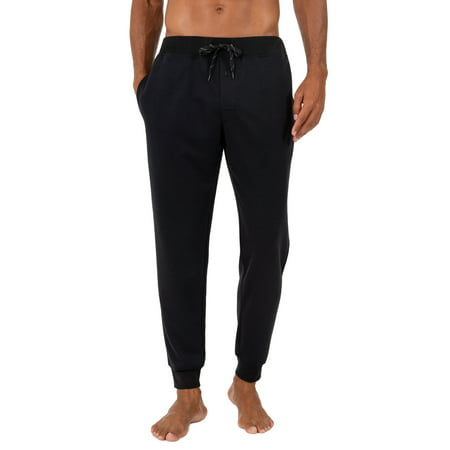 Fruit of the Loom Men's Knit Poly Rayon Jogger Lounge Pant ()