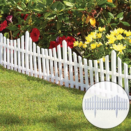 12pcs Garden Border Fencing Fence Pannels Gardening Landscape Decor Edging Yard Outdoor