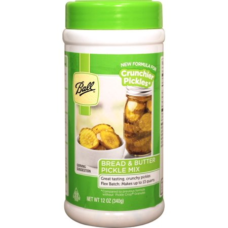 Ball Bread & Butter Pickle Mix - Flex Batch - New! (12.0oz) (by Jarden Home