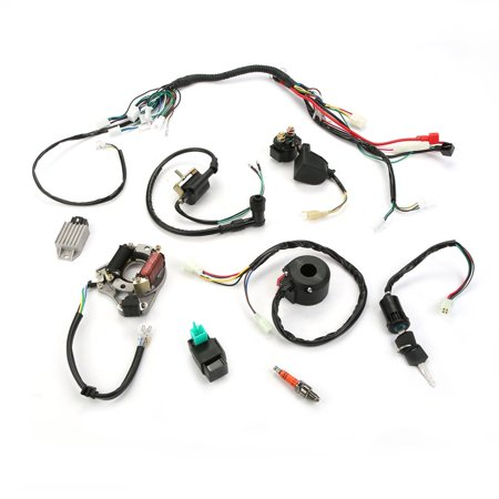 E-Moto ATV Electric CDI Wire Harness Assembly Ignition