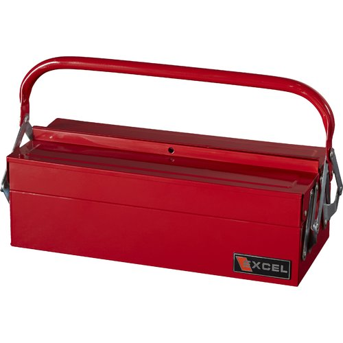 Excel Hardware Cantilever Portable Tool Box with 3 Trays