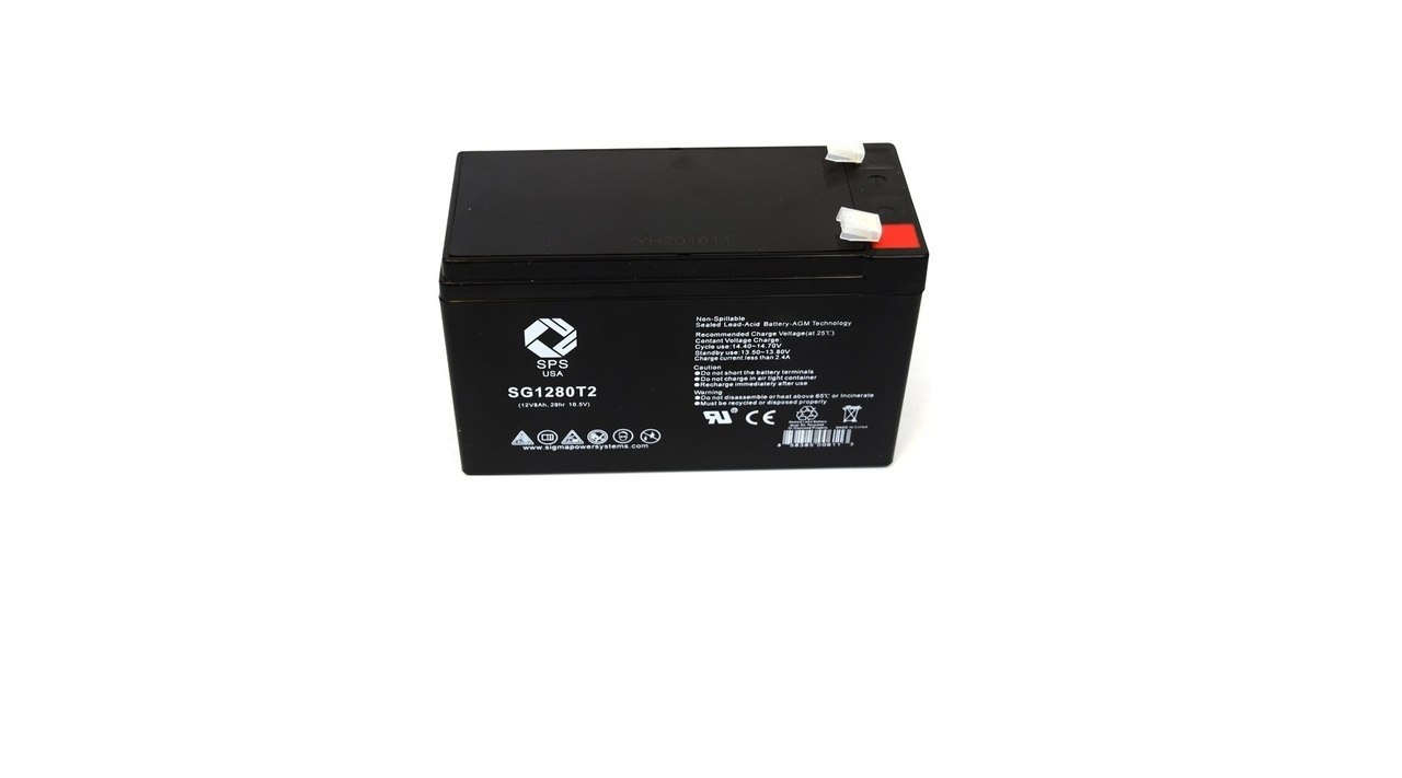 Set of 8 APC SU2200R3X106 UPS Replacement Batteries