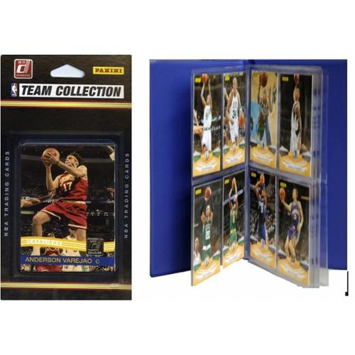 C & I Collectables 2010CAVSTS NBA Cleveland Cavaliers Licensed 2010-11 Donruss Team Set Plus Storage Album
