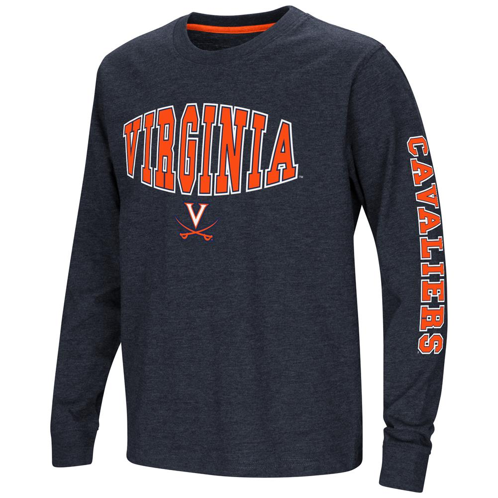 University of Virginia Cavaliers Youth Long Sleeve Tee Spike L/S Tee