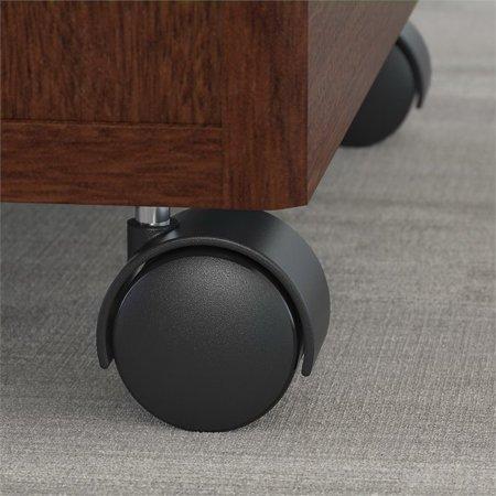 "Bush Business Series C 72"" Credenza Desk with Pedestal in Mahogany - image 6 de 7"