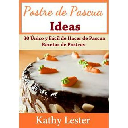 Postre de Pascua Ideas: 30 Único y Fácil de Hacer de Pascua Recetas de Postres - - Mesa De Postres De Halloween