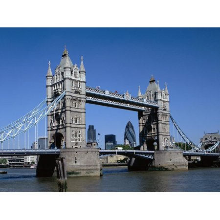 Tower Bridge in London Print Wall Art By David Ball - Halloween Balls London