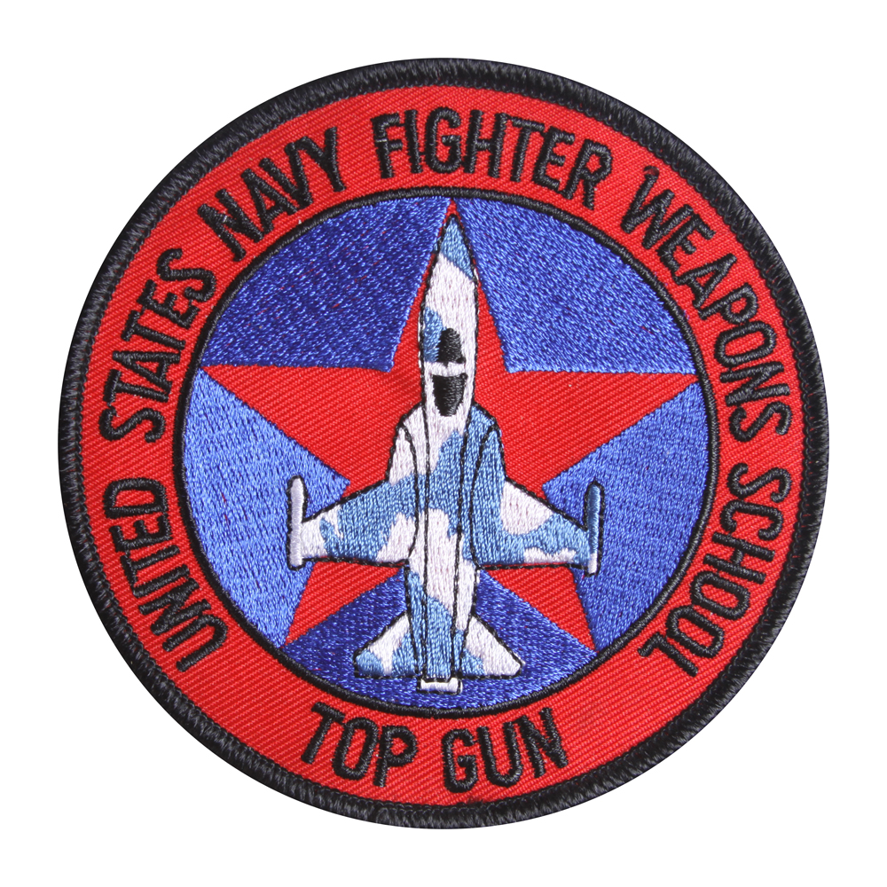 United States Navy Fighter Weapons School Top Gun Patch