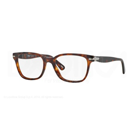 1e4829f8e9 Persol Eyeglasses 3003V 3003 V 24 Havana Full Rim Optical Frame 52mm ...
