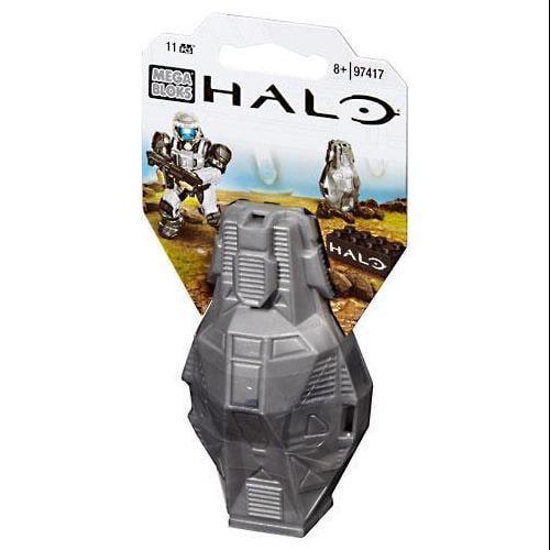Mega Bloks Halo Metallic ODST Drop Pod Set #97417 [Silver UNSC] by