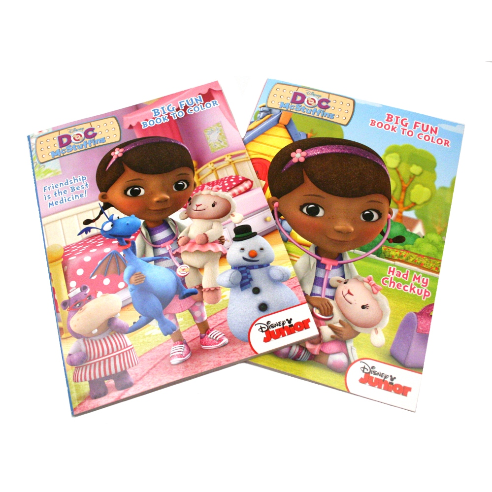 Doc McStuffins Big Fun Coloring Book