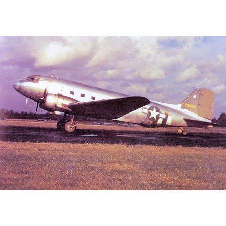 Laminated Poster 10Th Transport Group Douglas C 47B 25 Dk Skytrain 44 76404  Raf Grove Airfield  Uk  Summer 1944  Poster Print 24 X 36