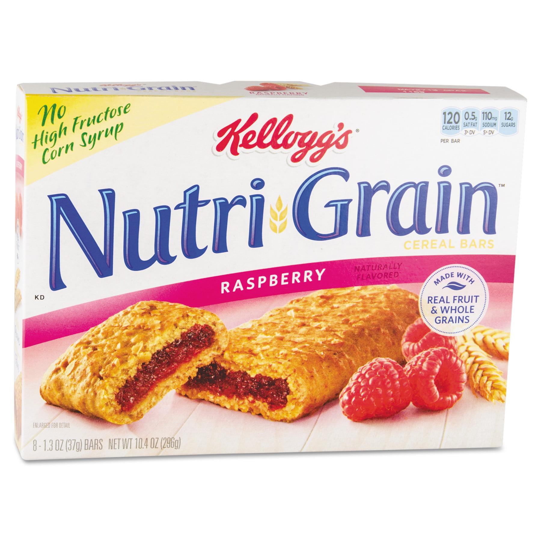 Nutri-Grain, KEB35845, Keebler Fruity Cereal Bars, 16 / Box