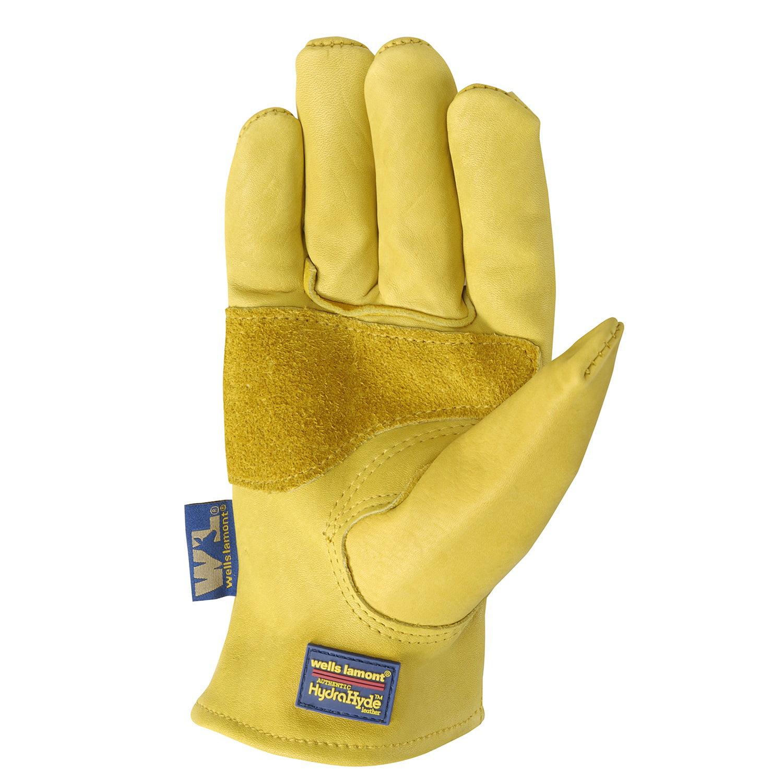 HydraHyde Mens Saddletan Grain Cowhide Glove M